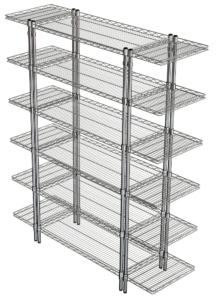 Euroshelf-900w-x-450-x6-with-450-Rectangular-Cant-Ends-(2)
