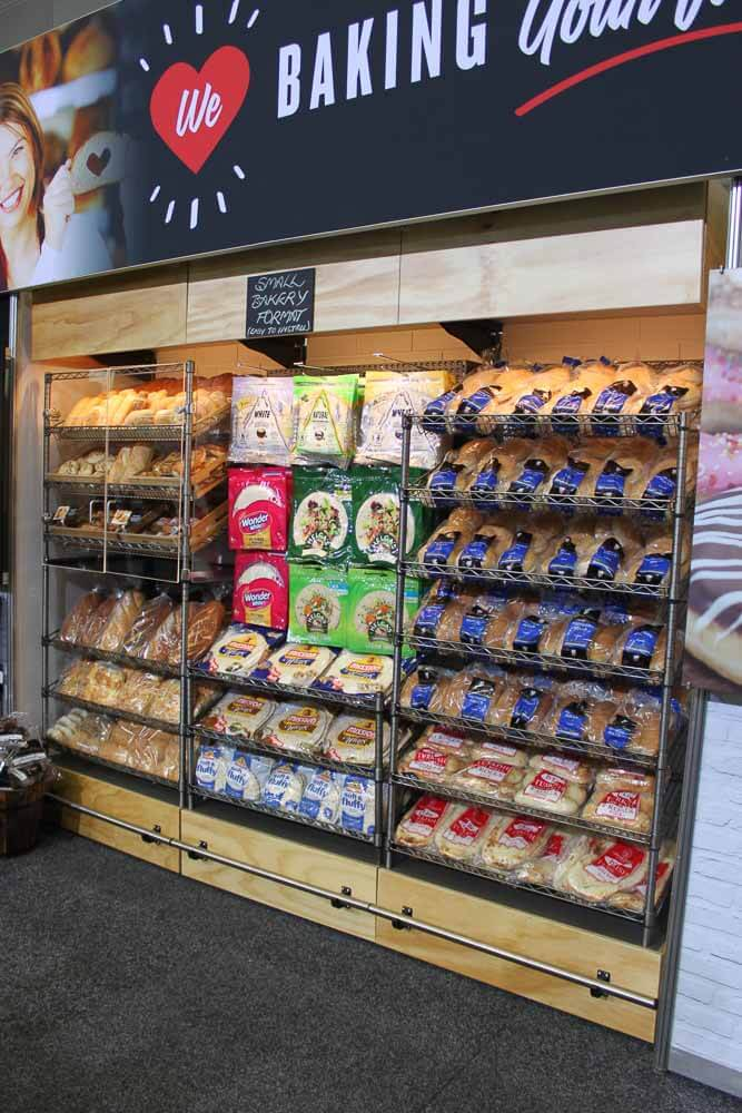 Metcash Expo - All in one bakery display stand