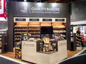 Metcash Expo - Goodman Fielder - All in one bakery display stand