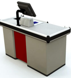 Compact Express Checkout Counter