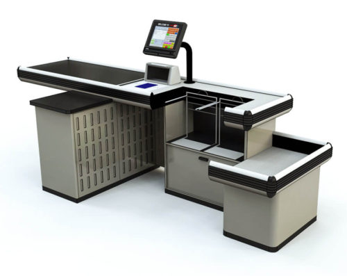 Scan and Pack Checkout Counter